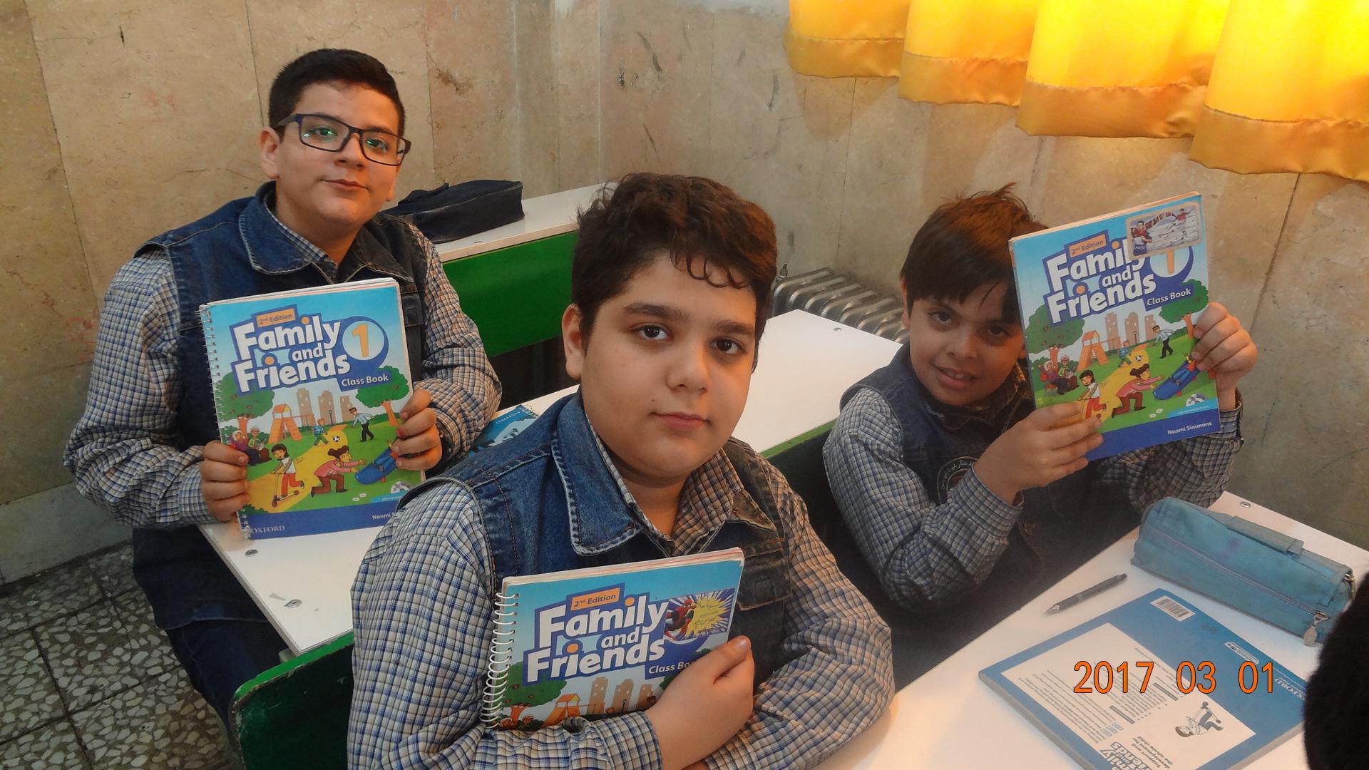 آموزش زبان انگلیسی در مدرسه