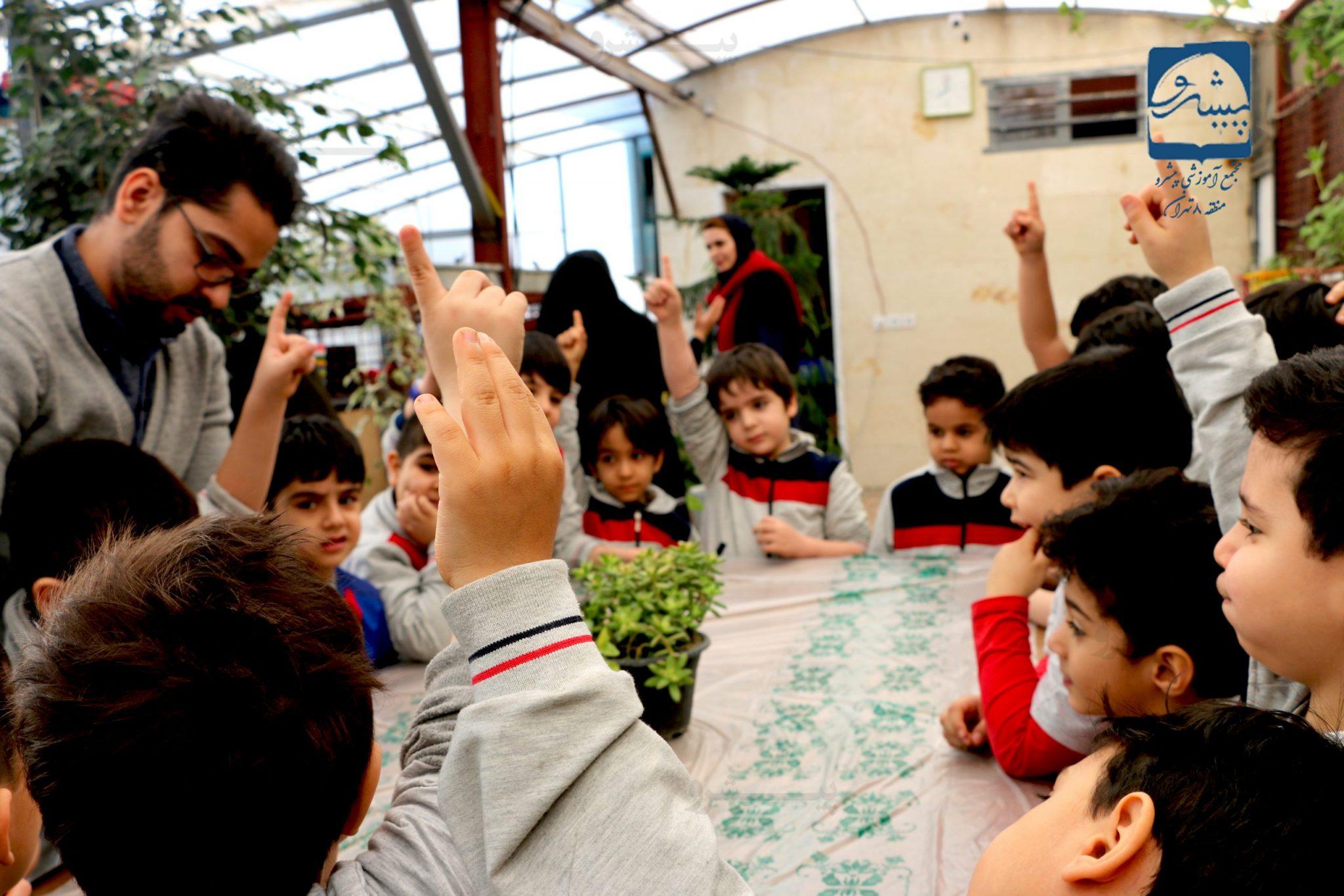 کارگروهی در پارک علم وخلاقیت