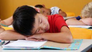 کمبود خواب کودکان
