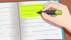 هایلایت کردن نوشته ها